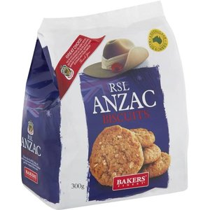 RSL Anzac Biscuits 300g