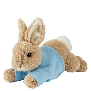 Peter Rabbit laying down