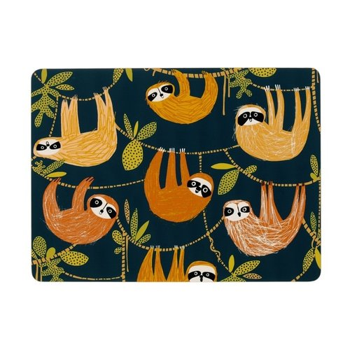 Ulster Weavers Sloth Print placemats