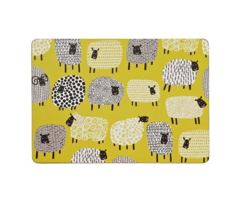 Dotty Sheep placemat