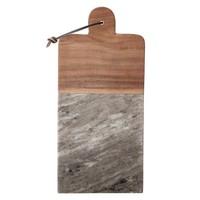Marble/ Acacia wood cheese board w/ Knife