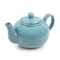 Turquoise Stoneware Teapot Small