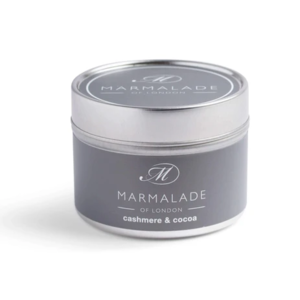 Marmalade of London Cashmere and Cocoa Small Tin Candle