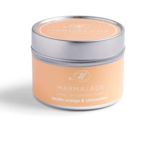 Marmalade of London Seville Orange and Clementine Small Tin Candle