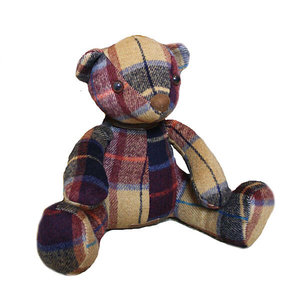 Samuel Lamont Tweed teddy bear door stopper