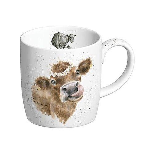 Wrendale Daisy Chain mug