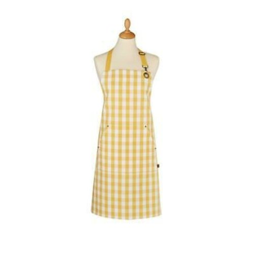 Ulster Weavers Apron Cotton Yellow Gingham