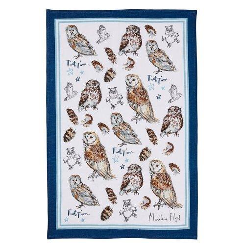 Madeline Floyd Owl Tea Towel
