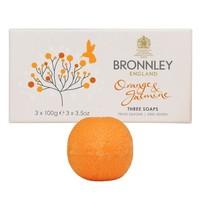 Orange and Jasmine Soap Set of 3