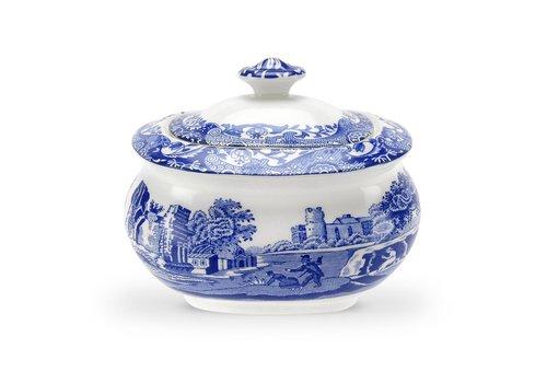 Spode Blue Italian Sugar Bowl