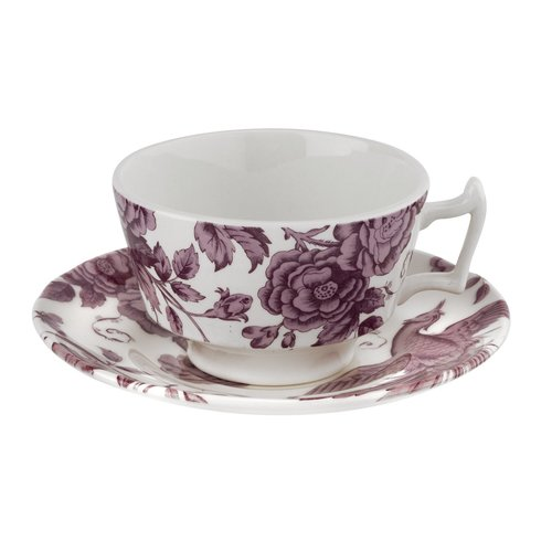 Spode Kingsley Teacup and Saucer 7oz