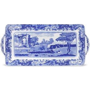 """Spode Spode Blue Italian Sandwich Tray 13"""""""