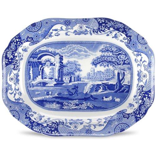 Spode Spode Blue Italian Oval Platter 35cm