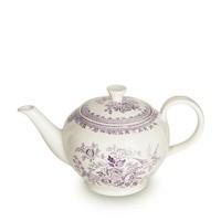 Plum Asiatic Pheasants Large Teapot