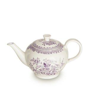 Burleigh Pottery Plum Asiatic Pheasants Large Teapot