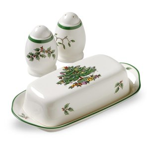 Spode Christmas Tree Hostess Set