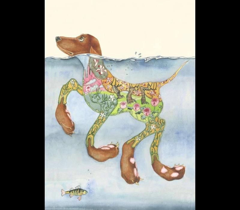 Doggy Paddle Card