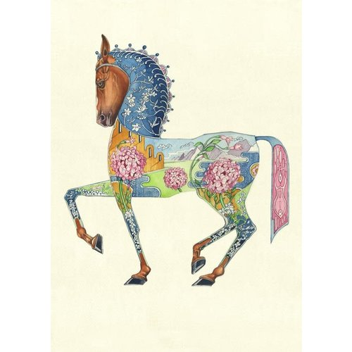 Horse Watercolour Gift Card
