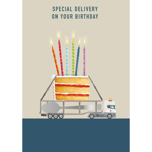 Ling Design Birthday Special Delivery Card