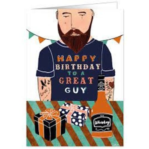 Quire Happy Birthday to a Great Guy Card