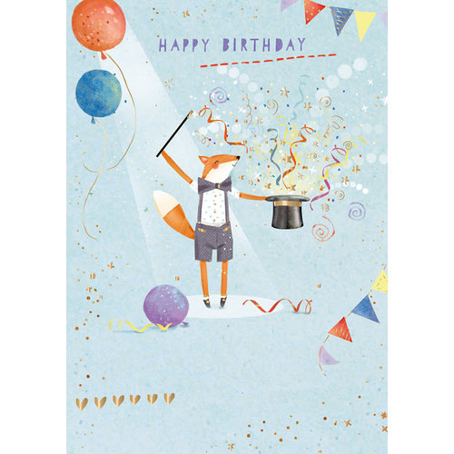 Ling Design A Magical Time Happy Birthday Card
