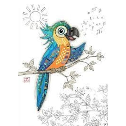 Percy Parrot Card