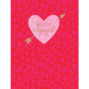 Paper Salad You're Engaged! Card