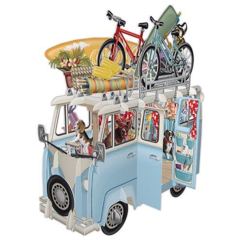 Paper d'Art The Camper Van 3D Card