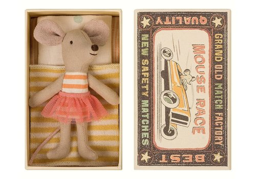 Maileg Maileg Little Sister Mouse in Box