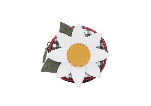 Vendula Daisy garden round coin purse with zip