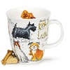 Dunoon Nevis Messy Dogs Mug