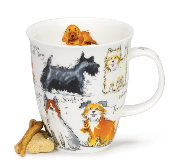 Nevis Messy Dogs Mug