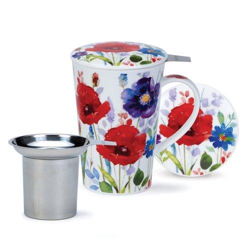 Dunoon Shetland Set Wild Garden Infuser Mug