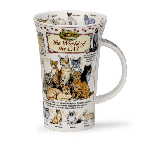 Dunoon Glencoe World of the Cat Mug