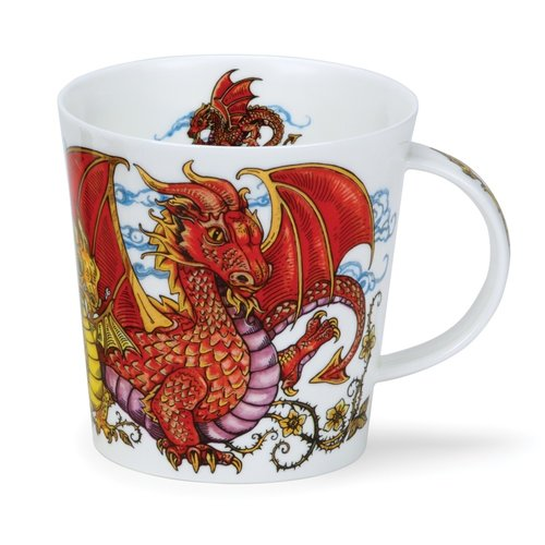 Dunoon Cairngorm Mythicos Dragon Mug