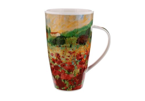 Dunoon Henley Paysage Poppy Mug
