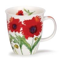 Nevis Flora Poppy Mug
