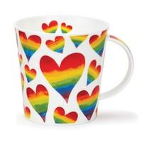 Cairngorm Rainbow Hearts Mug