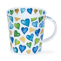 Cairngorm Lovehearts Blue Mug