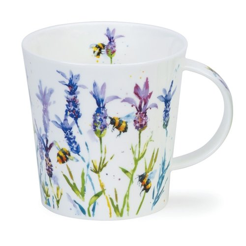 Dunoon Cairngorm Busy Bees Lavender Mug