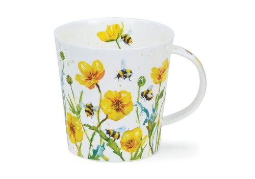 Dunoon Dunoon Cairngorm Busy Bees Buttercup Mug