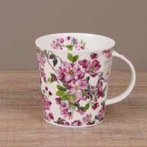 Dunoon Cairngorm Cottage Blooms Mug - Cherry