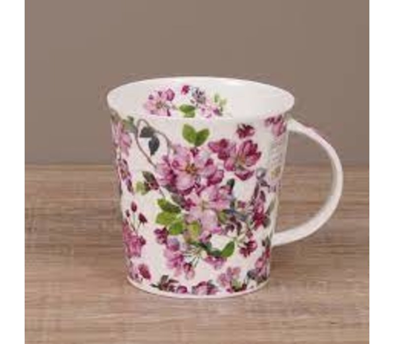 Cairngorm Cottage Blooms Mug - Cherry