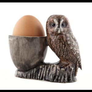 Quail Ceramics Quail Tawny Owl with Egg Cup