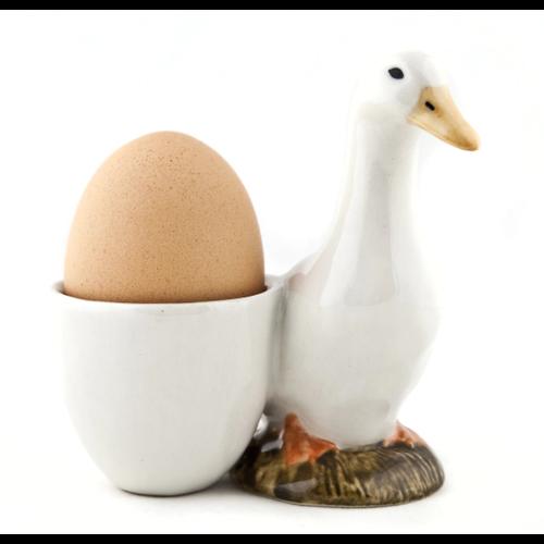 Quail Ceramics Quail Pekin Duck with Egg Cup