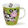 Dunoon Nevis Barmy Farmy Mug - Cow