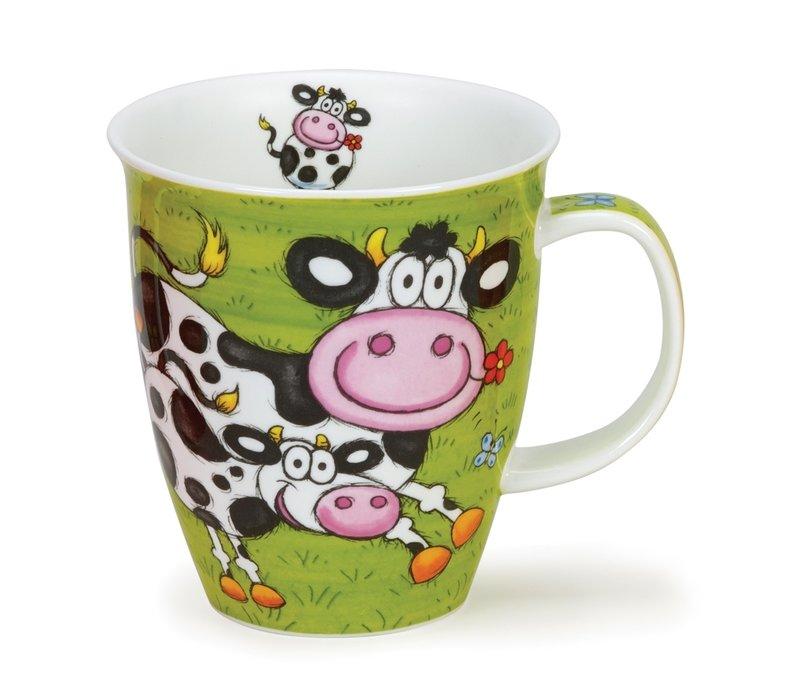Nevis Barmy Farmy Mug - Cow