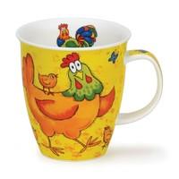 Nevis Barmy Farmy  Mug - Chicken