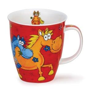 Dunoon Nevis Barmy Farmy Mug- Horse