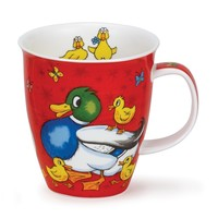 Nevis Barmy Farmy Mug- Duck